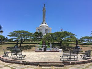 Santiago de los Caballeros, Dominican Republic. Monument to the Restoration Heroes.